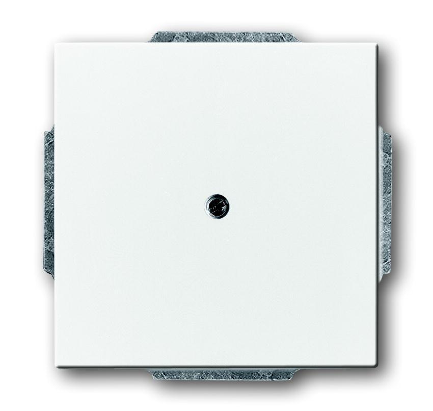 busch jaeger 1742 84 future linear studioweiss blindabdeckung schalter steckdosenshop. Black Bedroom Furniture Sets. Home Design Ideas