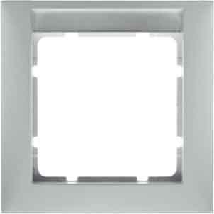 berker 10139919 s 1 polarweiss matt 3 fach rahmen. Black Bedroom Furniture Sets. Home Design Ideas