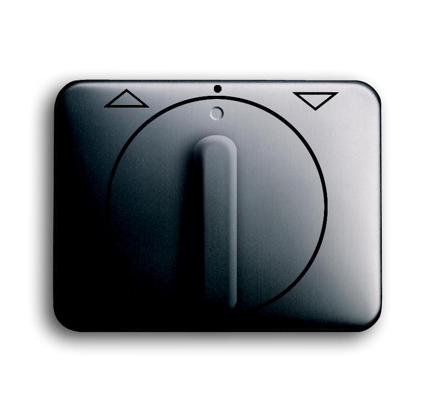 busch jaeger 1740 dr 20 alpha nea platin zentralscheibe mit drehgriff und aufdruck schalter. Black Bedroom Furniture Sets. Home Design Ideas