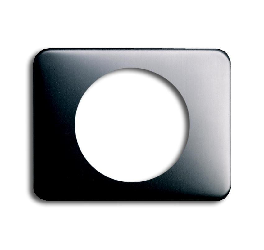 busch jaeger 1756 20 alpha nea platin zentralscheibe f r lichtsignal schalter steckdosenshop. Black Bedroom Furniture Sets. Home Design Ideas
