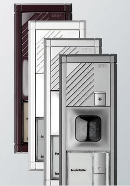 ritto modularsystem portier twinbus und mehrdrahttechnik schalter steckdosenshop organiska. Black Bedroom Furniture Sets. Home Design Ideas